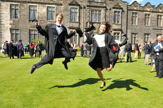 what to wear under graduation gown uk